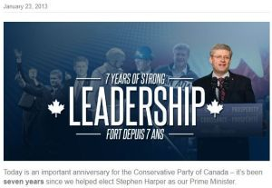 Can you spot the two errors from the Conservative Party's website?
