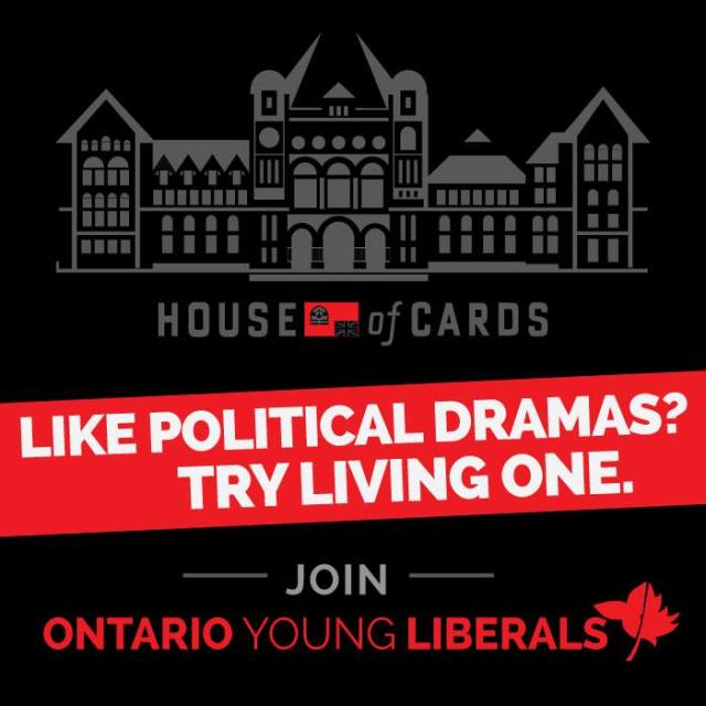 House of Cards and the Young Liberals