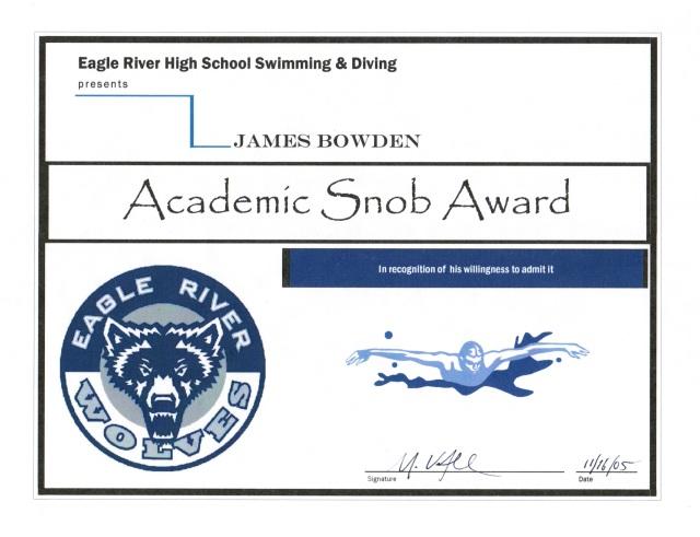 2005, Academic Snob Award