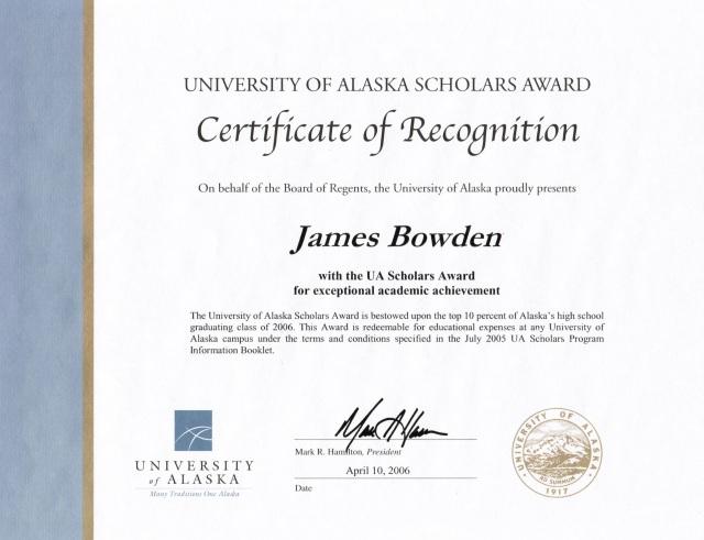 2006-04-10, University of Alaska's Scholarship