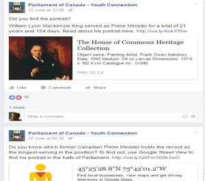 Parliament of Canada Youth Connection