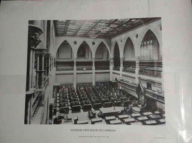 The Old House of Commons Chamber