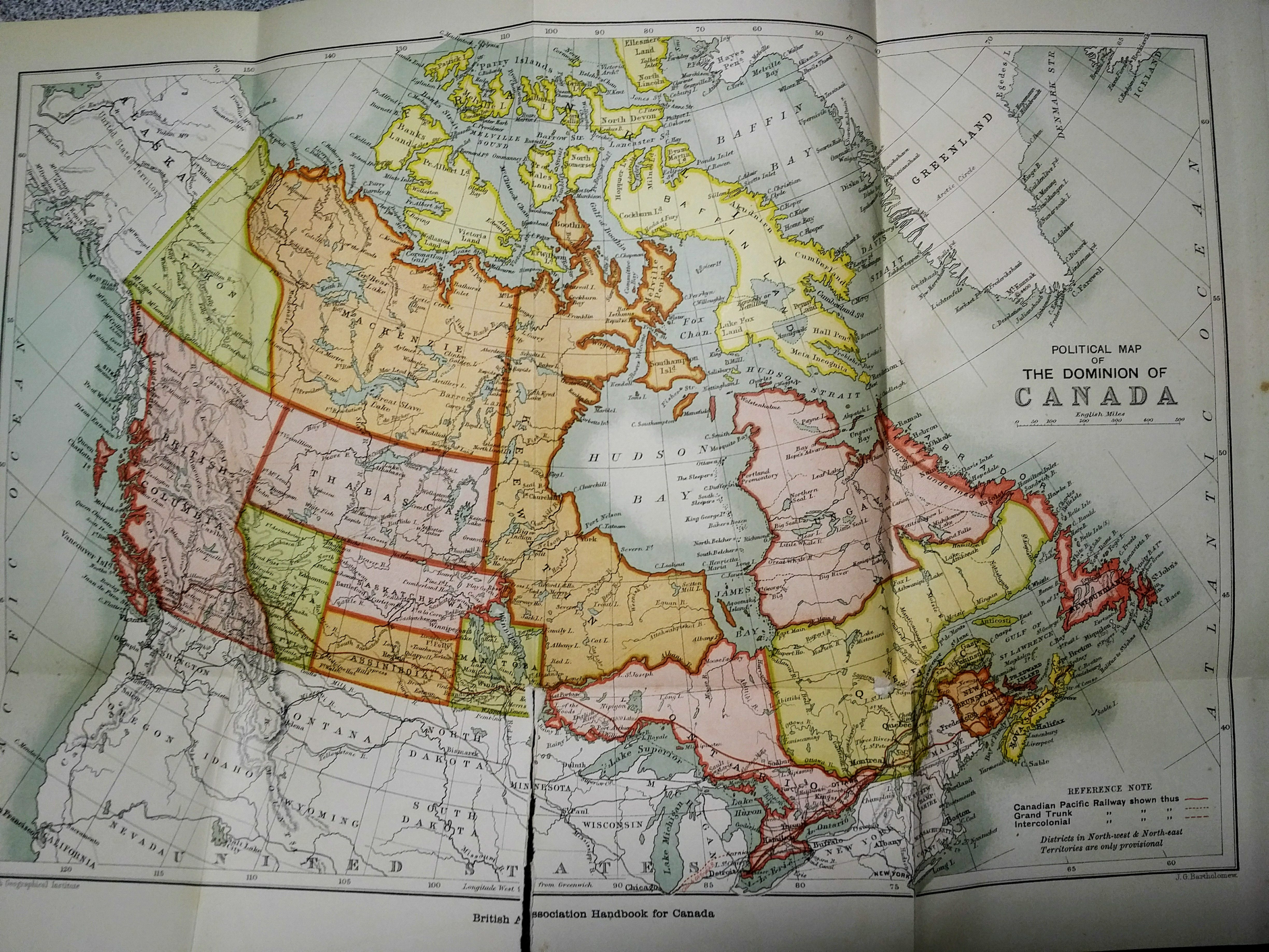 Political Map Of Ontario Canada.The Dominion Of Canada In 1897 James Bowden S Blog